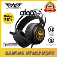 Armageddon 2.1 Gaming Headset Atom 7 Original