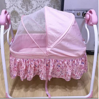 ayunan bayi baby otomatis tidur + baby swing + babyelle ( pakai 1x)