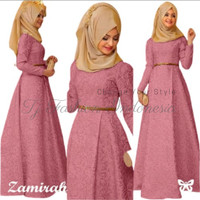 Gamis Zamirah / Hijab / Baju Muslim / Busana Muslim / Kebaya Modern SS
