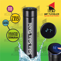 Tumbler Led Suhu, Tumbler Custom, Tumbler Grafir, Tumbler Murah KD03