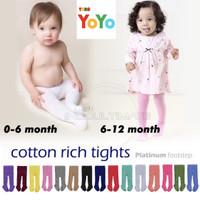 Legging bayi / Legging anak / Legging bayi polos / Celana bayi anak - Boy, 0-6 bulan