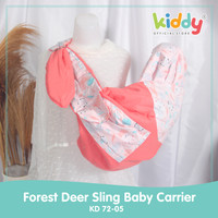 Kiddy Forest Deer Sling Baby Carrier/ gendongan bayi 7205