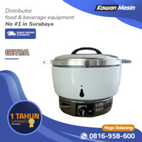 Rice Cooker GETRA MB80R-B | Alat Penanak Nasi Heavy Duty