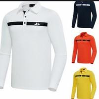 Polo shirt Golf/ Kaos kerah Lengan Panjang Pria/ J.Lindeberg Golf Men
