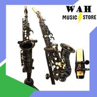 baby saxophone curved soprano saxophone antonio black nickel YWSP-06BN
