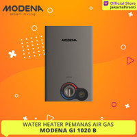 Water Heater Gas Modena GI 1020 B - Pemanas Air Gas LPG
