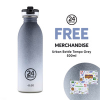 Botol Tumbler Stainless Termos 24Bottles Urban Bottle Tempo Grey 500ml