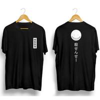 Kaos Pria Distro Japanese Kanji OP102 Fashion Pria Baju Pria - Hitam, L