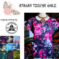 Atasan Tie Dye Bali | Kaos Tiedye | Baju Tie Dye Dewasa Murah