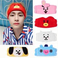 BAN24 Bando Bandana Headband Tidur Make Up BTS BT21 ARMY Korea Tata RJ