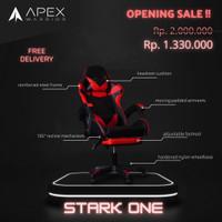 Apex Warrior Stark One Premium Gaming Chair Kursi Gaming w/ Footrest