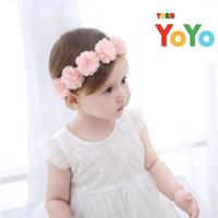 Bandana bayi newborn / Headband baby flower / Bando bayi / Pita bayi