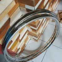 Velg sepeda rims 26 x 1.75 besi chrome ARAYA 36H 1 set KA