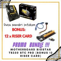 Biostar TB250-BTC PRO - [LGA 1151, B250, DDR4 ,USB 3.0] Support Mining