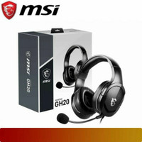 Headphone Gaming MSI IMMERSE GH20 - Wired Microphone Headset GH 20
