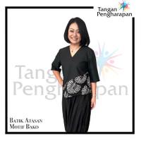 Blouse Batik Motif Bako Tangan Pengharapan - S