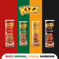 Paket Reseller Kizz Tempe Crunchy Keripik Tempe Sagu Sehat Non MSG