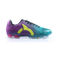 Sepatu Bola ORTUSEIGHT Forte Helios FG 11010001 Tosca/red/blk/neon gre