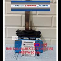BAN DALAM SEPEDA 20 X 1 3/8 PENTIL PANJANG PRESTA VALVE 51 MM 20X1 3/8