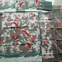 bahan sarimbit batik tulis sutra atbm couple 126P