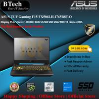 ASUS TUF Gaming F15 FX506LH-I765B8T-OCore i7-10870H 8GB/512GB/VGA/W10H
