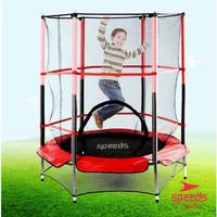 Trampoline Untuk Anak Anak Trampolin Lompat Olahraga Original Speeds