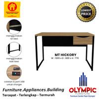 Meja Kerja - Meja Belajar - Meja Kantor - MT Hickory - Olympic