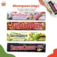 SilverQueen 65 Gr   Very Berry Yoghurt   Greentea   Cashew   White