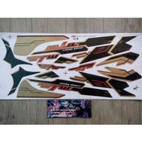 Lis Striping Sticker Mio Sporty Limited Edition Coklat Berkualitas