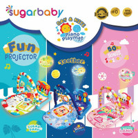 Sugar Baby Day and Nite Piano Playmat / Matras Bayi / Mainan Bayi