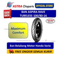 Ban Aspira Maxio Rave 100/80-14 Tubeless (16-100/8014-RAVE)