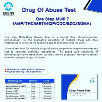 Drug Abuse Test 7 Parameter Soma merk egens
