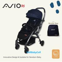 Kereta Dorong Bayi Stroller BabyElle 939 Avio RS Navy Blue