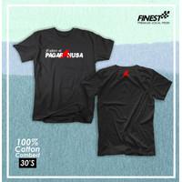 Baju Kaos Tshirt Cotton Combed 30s Pencak Silat Pagar Nusa 1982