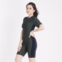 ANAVAH Baju Renang Wanita Model Diving Pendek V02
