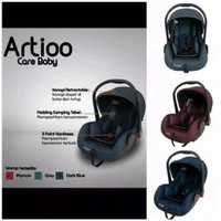 Carseat Care Baby Artioo /Carrier Baby / DUDUKAN MOBIL BAYI / CARSEAT