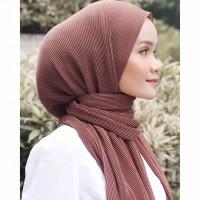 Parsel Ramadan Pashmina Plisket Ceruty Babydoll Premium