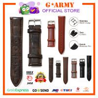 Tali Kulit / Strap Jam Tangan Kulit / Leather Size 14, 18, 20, 22mm