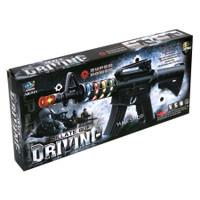 MAINAN TEMBAKAN ELEKTRIK SUARA OSCILATE GUN DRIVING | TEMBAK M16