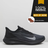 CJ0291-001 Sepatu Running Original Nike Air Zoom Winflo 7 - Black