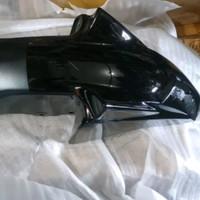 Spakbor depan yamaha Scorpio Z new hitam original