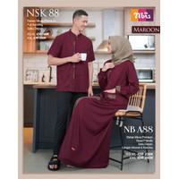 Baju Couple Muslim Nibras (NBA 88)