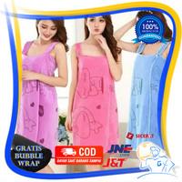 Baju Handuk Mandi Dewasa Wanita Kimono Renang Karakter Cloth