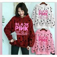 Baju Kaos Hoodie BLACKPINK Kpop Wanita Best Seller Shirt 2053