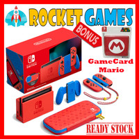 Nintendo Switch Gen2 / V2 New Console Mario Red & Blue Edition