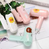 Hair Dryer Karakter Mini Portable Pengering Rambut Kecil Mix