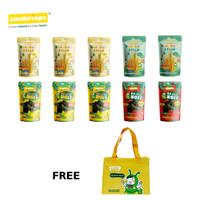 Paket Snack Cemilan Keluarga + Free Tas Bekal Suni