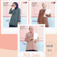 Atasan Wanita Muslim [Semi Formal] Nibras (NA 046)
