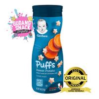 Gerber Graduates Puff Sweet Potato 42 gram / Snack Bayi / Baby Snack /