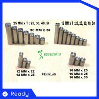 PEN IKLAN 30 X 30 STAINLESS STEEL / BAUT KACA 30 X 30 mm / SIGN BOARD